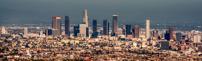 LA Skyline, Globally Edited