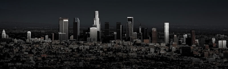 LA Skyline, Locally Edited