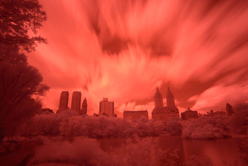 Central Park in Infrared (SOOC)