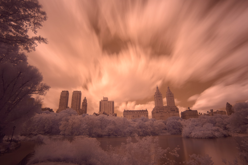 Central Park in Infrared (Corrected White Balance)